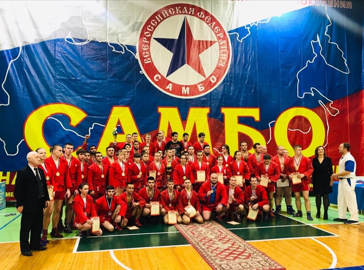 Команда СПбГМТУ в составе 5 человек выступила на престижных соревнованиях по самбо