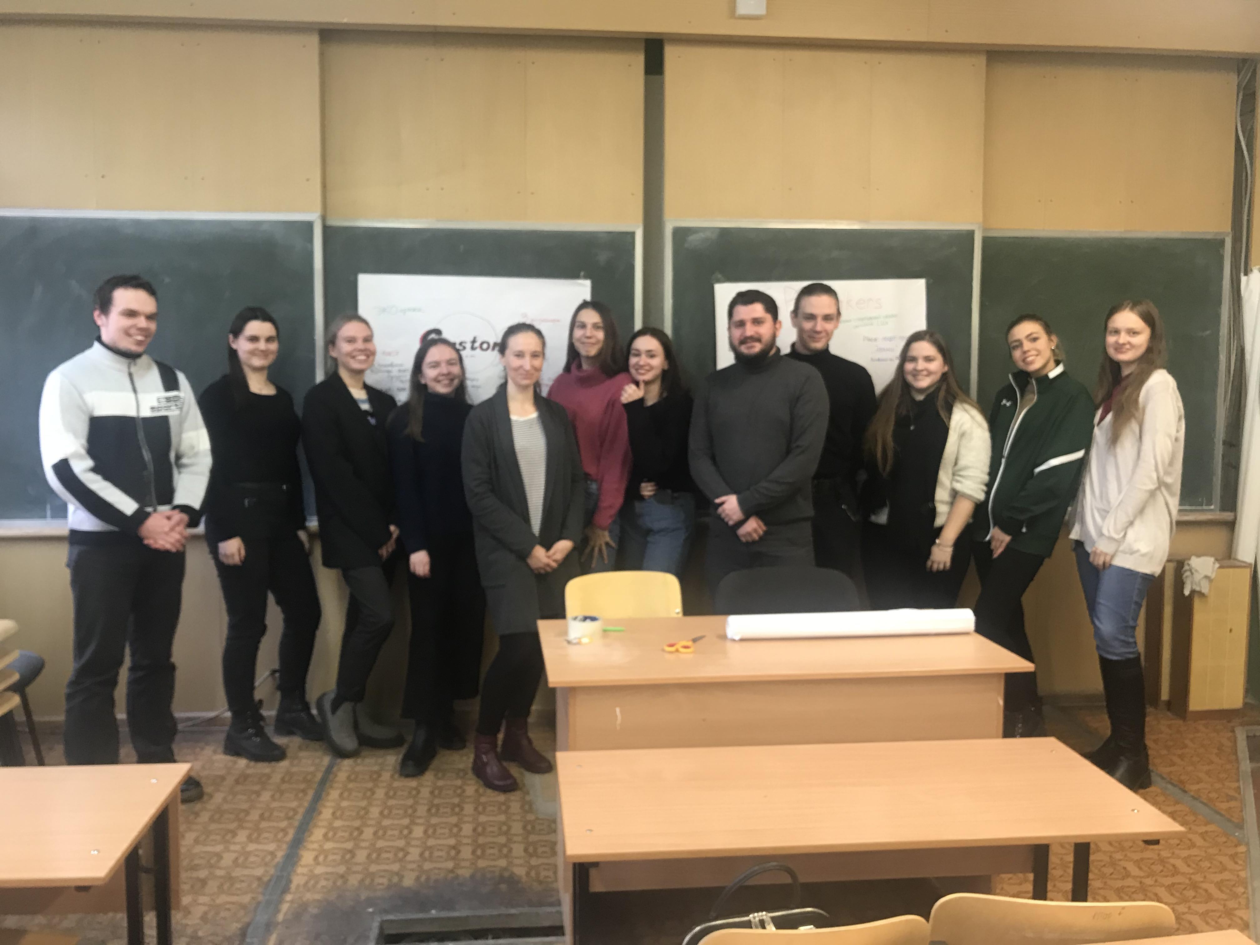Центр развития и поддержки предпринимательства провел тренинг на тему: «Генерация бизнес-идеи» для студентов МВШУ